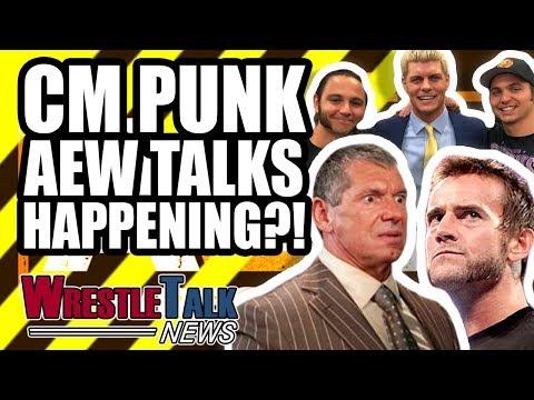 CM Punk To Talk To AEW Stars! HUGE WWE WrestleMania 35 Ending SCRAPPED! | WrestleTalk News