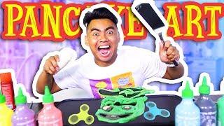 Nonton PANCAKE ART CHALLENGE!!! Film Subtitle Indonesia Streaming Movie Download
