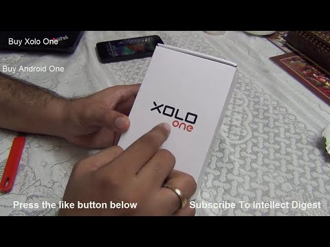 Xolo One Unboxing, Review And Comparison With Android One