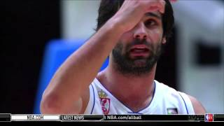 EuroBasket 2015 Semi Final; Serbia vs Lituania First Half