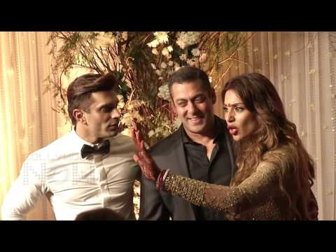 Salman Khan HUGS Karan Singh Grover Bipasha Basu A