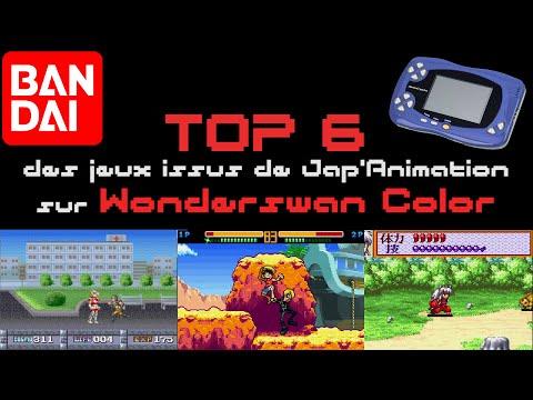Top 6 des jeux issus de la Jap'Animation sur Wonderswan Color