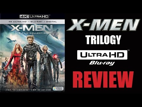 X-MEN COLLECTION 4K Blu-ray Review