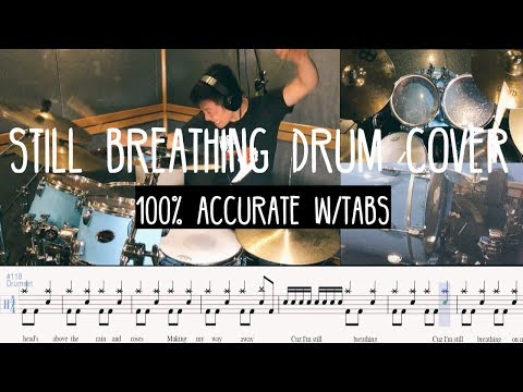 Video Still Breathing Drum Cover EXACTLY how Tre Plays it W/Tabs (Green Day)(Tre Cool) download in MP3, 3GP, MP4, WEBM, AVI, FLV January 2017