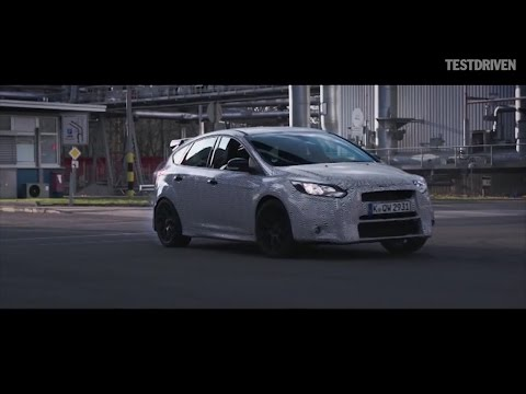ford focus rs 2016 - test drive ken block