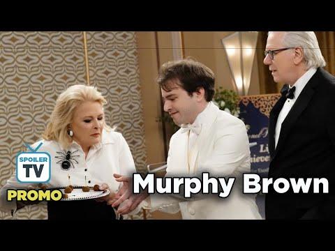 "Murphy Brown 11x07 Promo ""A Lifetime of Achievement"""