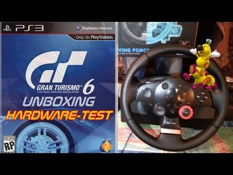 Driving Force GT (PS3/PC Lenkrad) | Unboxing, Hardware-Test