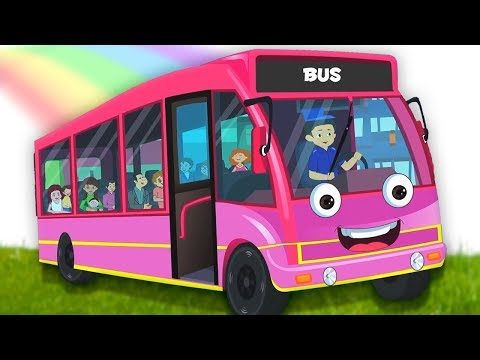 Roda di Bus | lagu anak-anak | bus rima | Wheels On The Bus