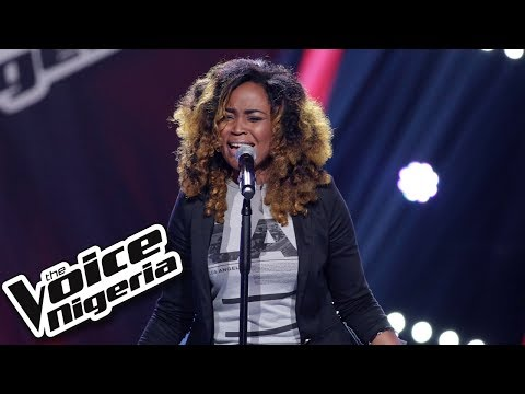 """Tama Nisa sings """"From this moment"""" / Blind Auditions / The Voice Nigeria Season 2"""