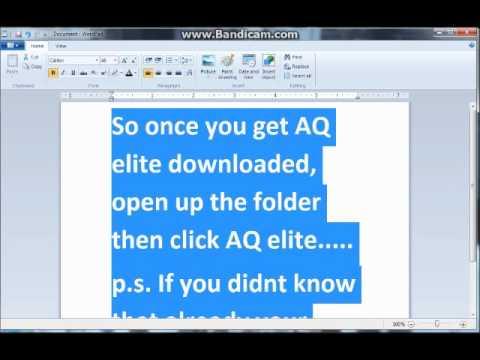 AQ 2mil exp tut (part 1)