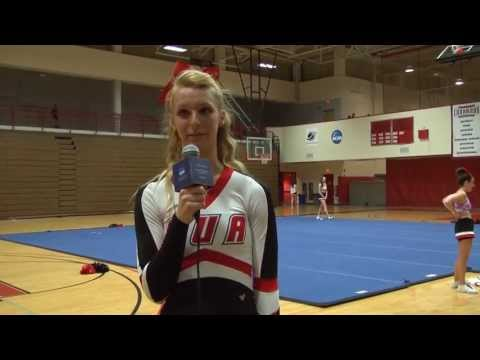 CUA Cheerleaders prepare for Nationals