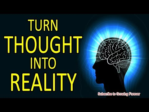 Quotes about happiness - Turn Thought Into Reality (Subconscious Mind Power)