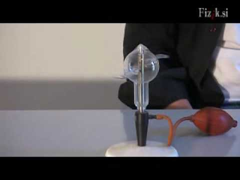 Air propulsion - physics experiment