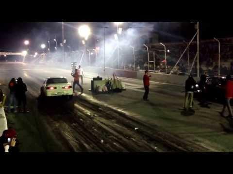 MD-tuning vs Pat Jdm @ Autodrome st eustache Jdm fest 2013 Honda day 2013 drag racing civic integra