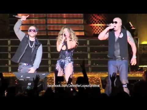 Jennifer Lopez & Wisin y Yandel – Follow The Leader (Live in Puerto Rico 21/12/12)