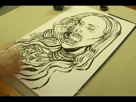 ming doyle - A quick 10 minute drawing drawn quicker thanks to the art of time lapse. Art by Ming Doyle, photographs/cinematography by Neil Cicierega. Music is