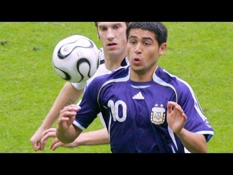 Video Juan Roman Riquelme 50 mejores jugadas
