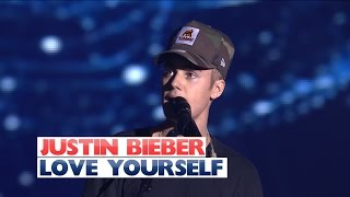 Video Justin Bieber - 'Love Yourself' (Jingle Bell Ball 2015) MP3, 3GP, MP4, WEBM, AVI, FLV Januari 2018
