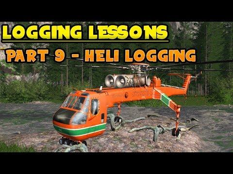 FDR Logging Gryphon Heli V12 v2.0