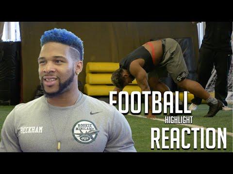 Beckham Football Highlight Reaction видео