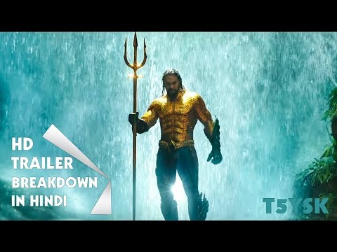 AQUAMAN Official Trailer #2 (NEW 2018) Jason Momoa Superhero Movie HD #T5YSK