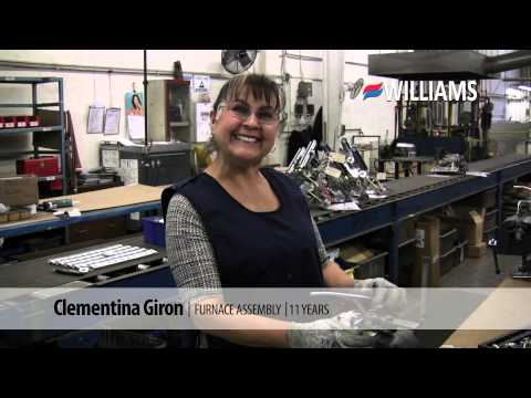 Williams Products, Made in America Since 1916 | Clementina Giron – Furnace Assembly