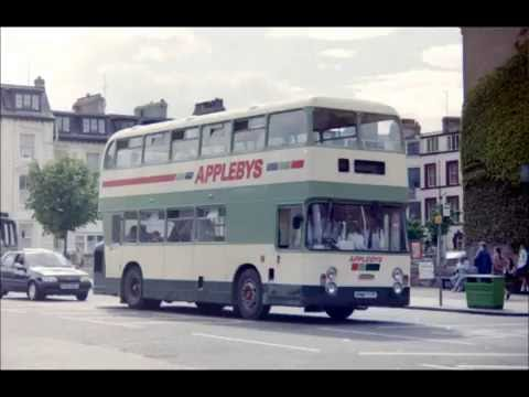 BUS BUSES & COACHES IN SCARBOROUGH 1990s PHOTO VIDEO