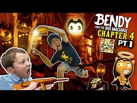 BENDY & THE INK MACHINE CHAPTER 4 Colossal Wonders: Carnival Creeps (FGTEEV Part 1) (видео)