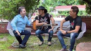 Entrevista com a dupla Léo e Júnior - Visita Record