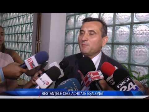 RESTANȚELE CEO, ACHITATE EȘALONAT