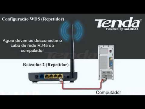 W311R+ Configuração WDS (Repetidores)