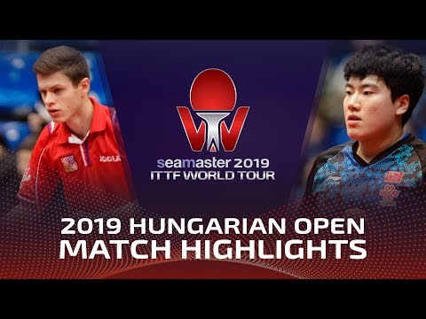 Xu Xin/Liang Jingkun Vs Pavel S./Tomas P. | 2019 Hungarian Open Highlights (R16)