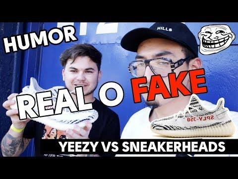 HUMOR | ¿Real o Fake? YEEZY vs Sneakerheads en Adictillas | by.jetset
