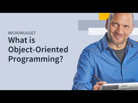 oop - In this MicroNugget, CBT Nuggets trainer Garth Schulte defines Object-Oriented Programming, a design philosophy used to build applications. Want to request a...