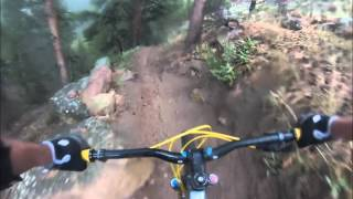 Part 2, the 2nd half of epic wetness on Doctor Park Trail...