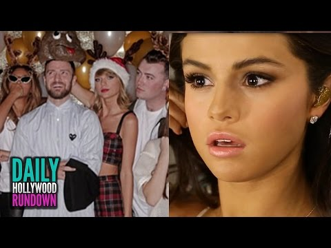 Taylor Swift Parties W/ Beyonce & JayZ For 25th Birthday – Selena's Emotional AMAs Video Diary (DHR)