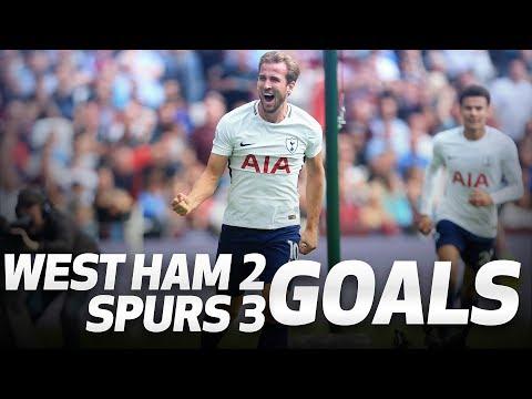 Video: GOALS   West Ham 2-3 Spurs