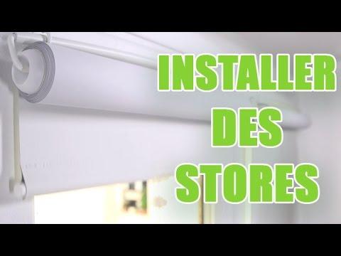 Poser des stores intérieurs roulants sur les battants de fenêtres - DIY by youMAKEfashion