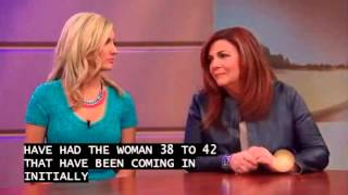 aParent IVF Colleen Coughlin and Whitney Bischoff on Windy City Live