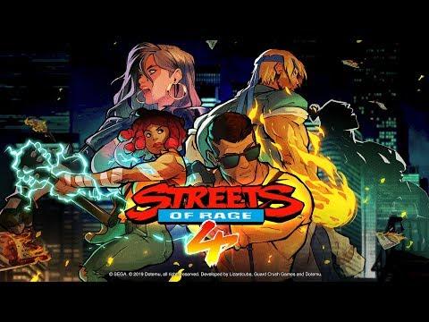 Adam Hunter de Streets of Rage 4