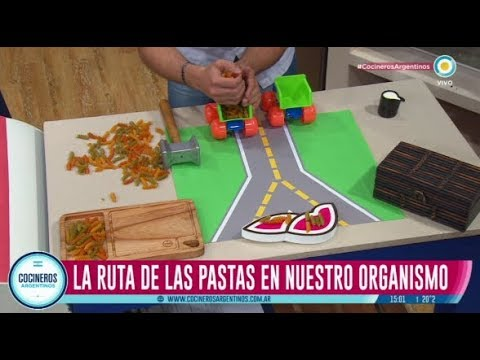 La ruta de la pasta en tu organismo por Diego Sívori