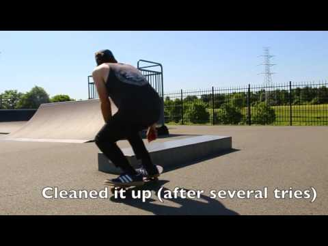 Warm up routine and sesh at Hopewell Skatepark