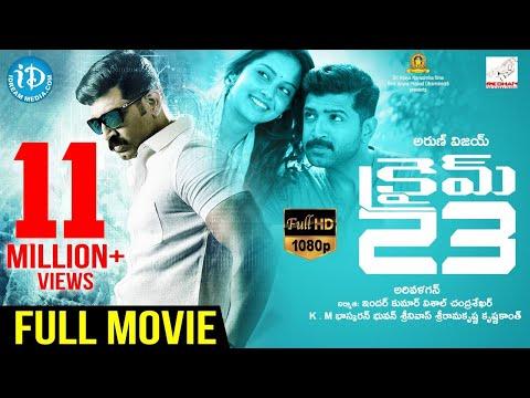 Crime 23 Latest Telugu Full Movie | Arun Vijay | Mahima Nambiar | Abhinaya | Vishal Chandrasekhar