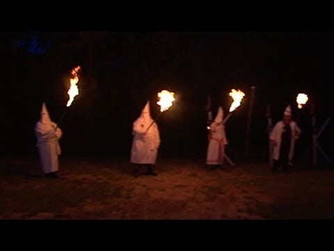 KKK - Part 1: Witness a cross burning and other rituals outsiders rarely see.