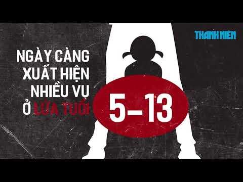"""Tác phẩm đạt giải C: """"Góc nhìn HTV- Xâm hại tình dục trẻ em"""" - Kỳ 1: Những con số gây sốc"""