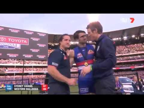 Bob Murphy Gets His Premiership Medal 2016