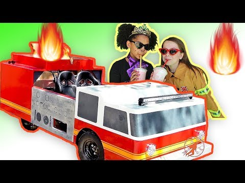 Little Heroes Rescue Squad 6 - The New Fire Engine, The Mayor and Princess Pompy
