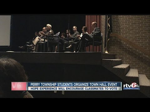Perry Township students organize town hall event