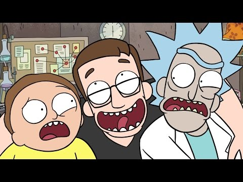 I'M THE REAL MORTY!! - Rick And Morty Virtual Rick-Ality Gameplay (видео)