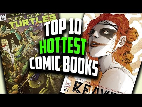 The Hottest Comic Books Of The Week - Sandman, Paper Girls, TMNT Comic Sales